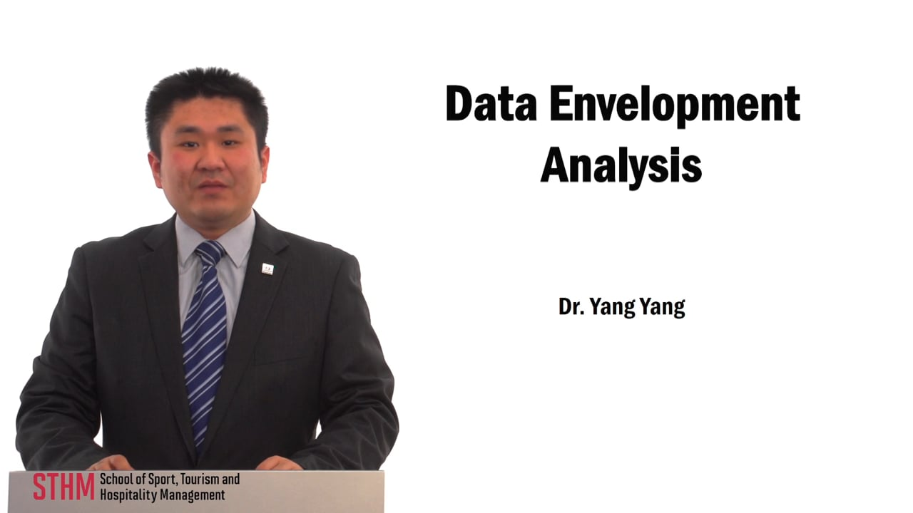 59731Data Envelopment Analysis