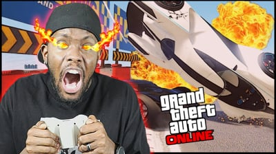 ROAD RAGE! LEARNING TO RACE DIRTY! - GTA Online Gameplay