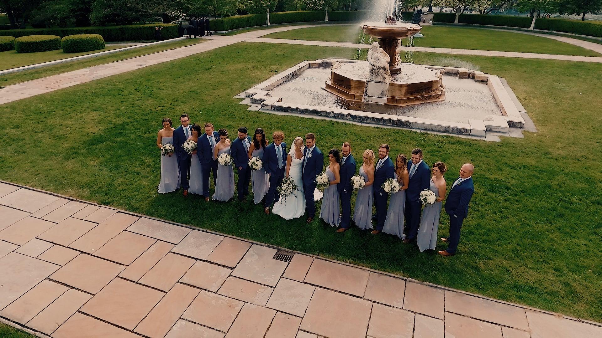 Lindsay & Steve Wedding Day Highlight