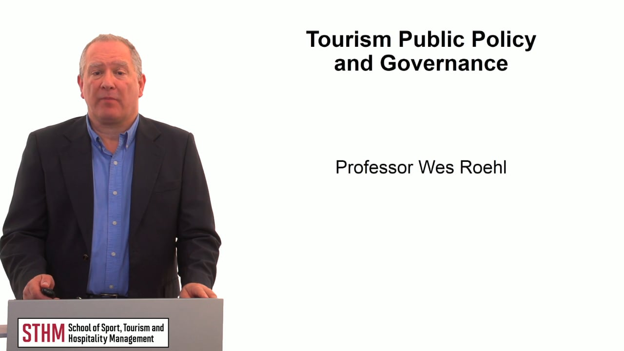 59749Tourism Public Policy and Governance