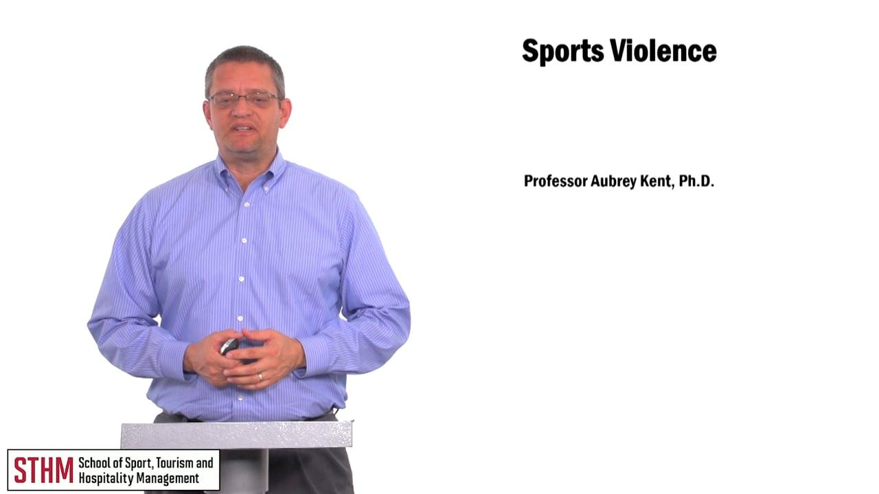 59912Violence in Sport