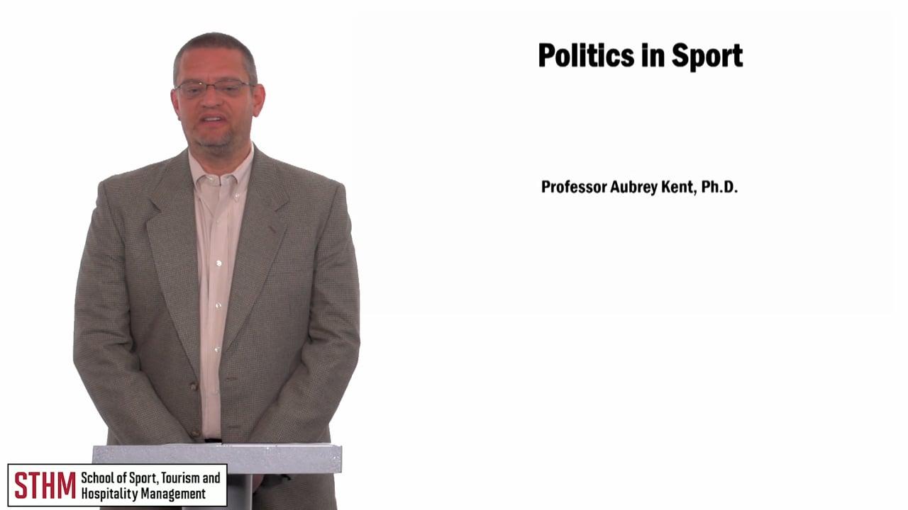 59902Politics in Sport