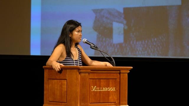 Millbrook Chapel Talk - Liya Liang '18