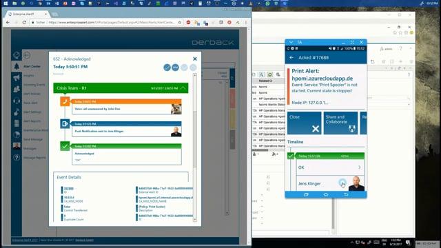Enterprise Alert 2017: Integration of HP OMi