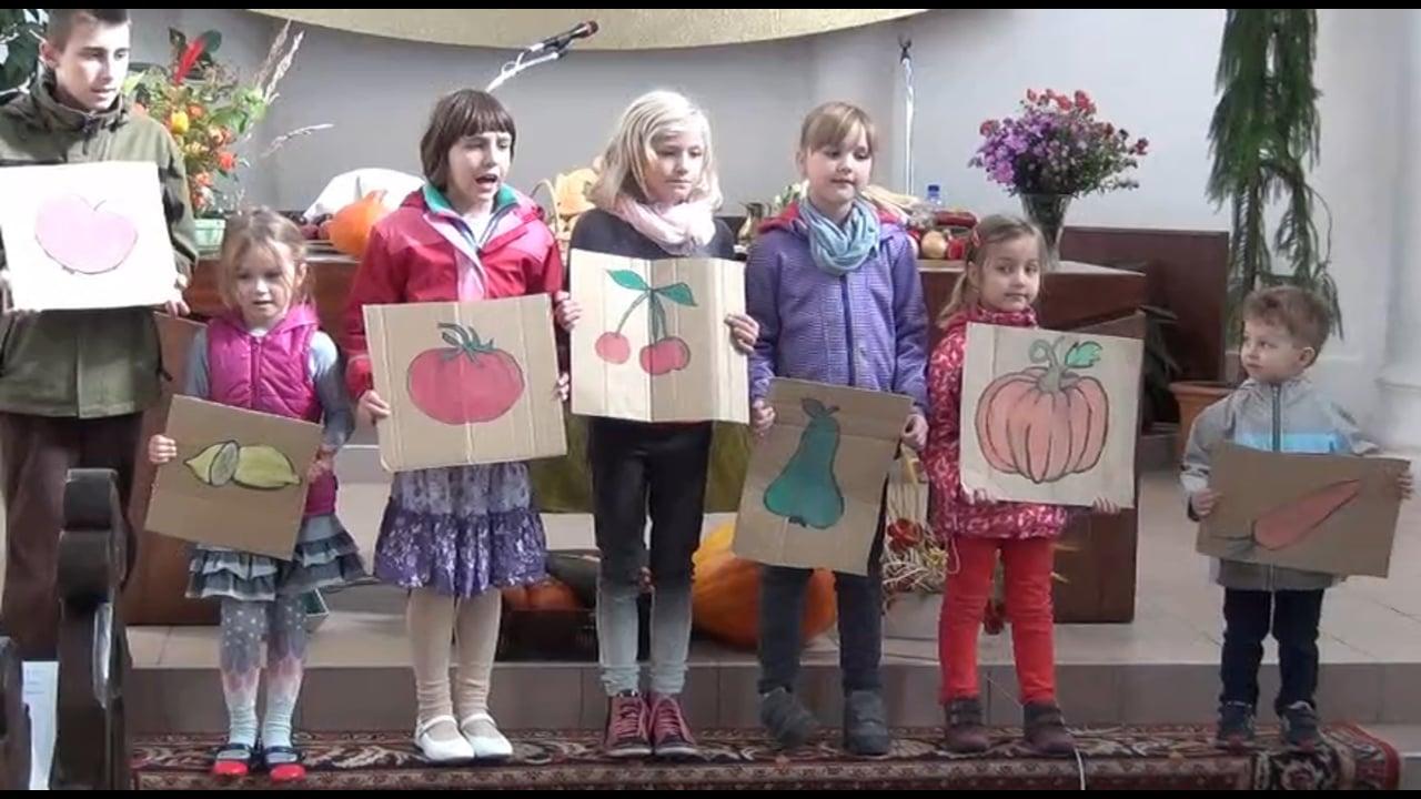 Vystoupení dětí 1.10.2017