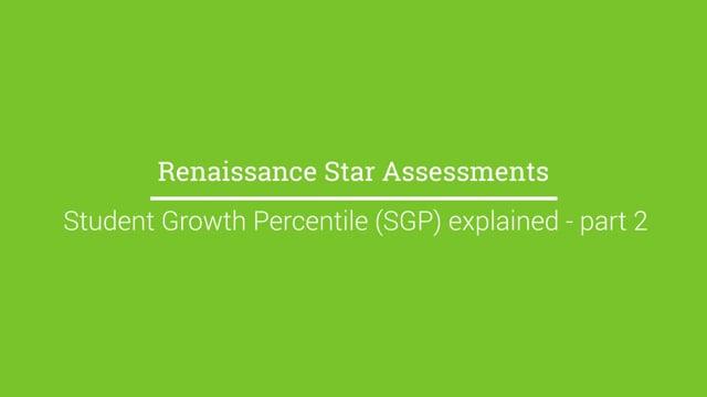 Student Growth Percentiles (SGPs) explained - Part 2