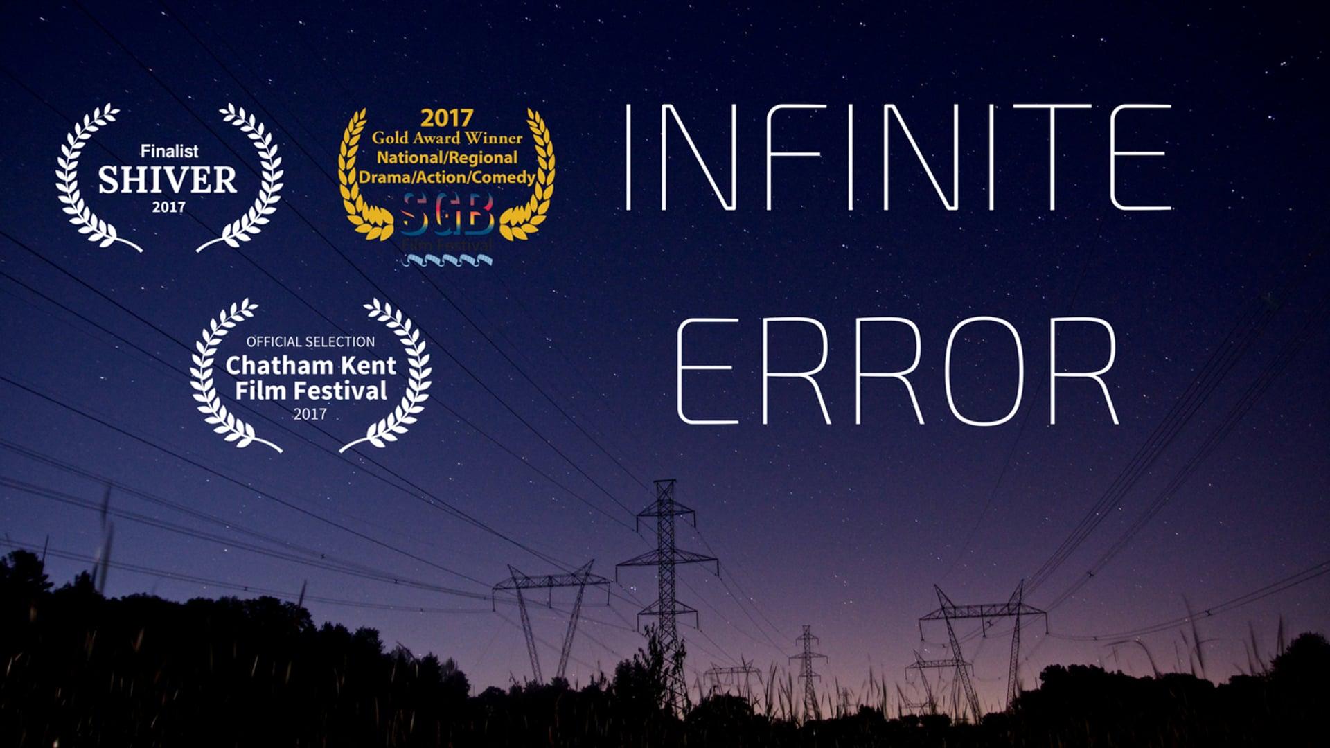 Infinite Error
