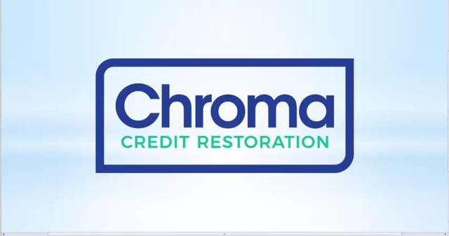3159Chroma Credit Restoration User Portal Training
