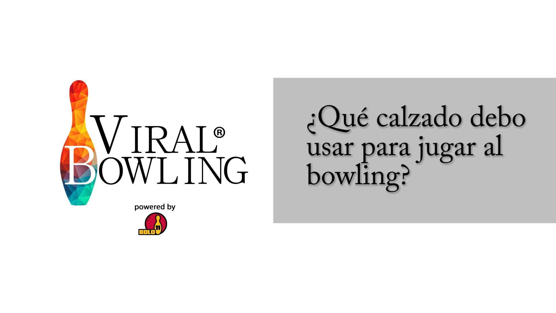 #ViralBowling: El calzado adecuado para jugar al bowling