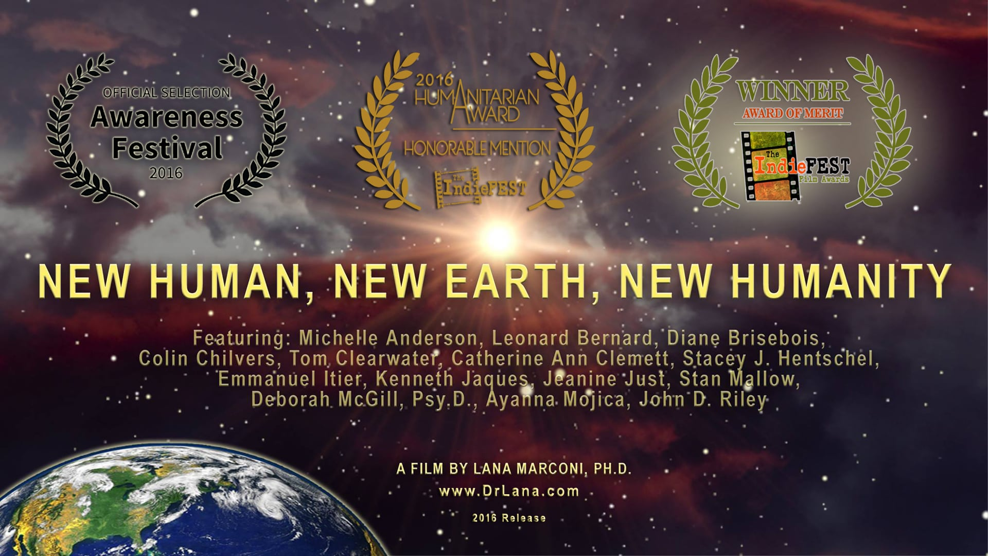 Film Trailer: New Human, New Earth, New Humanity