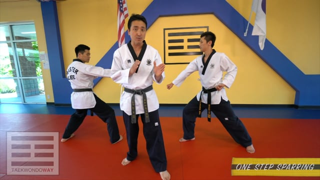 High Yellow Belt One Step Sparring