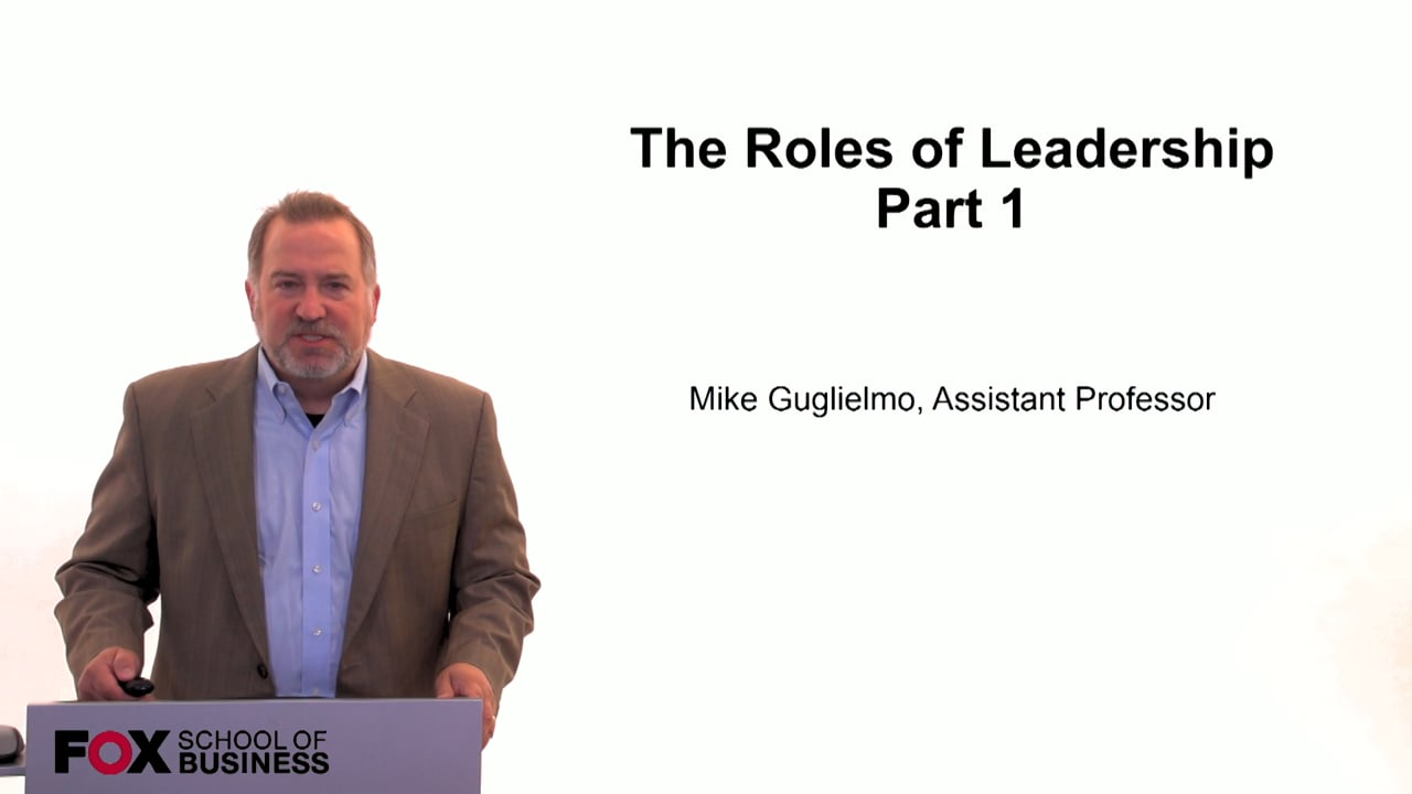 59982The Role of Leadership Pt. 1