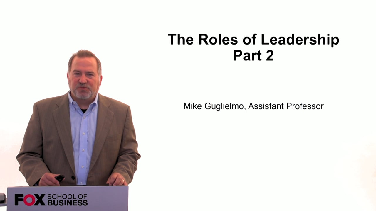 59983The Role of Leadership Pt. 2