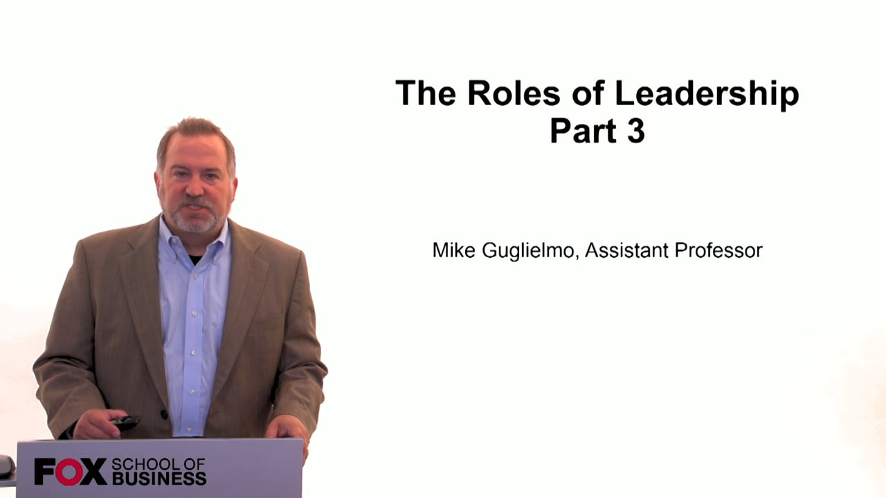 59984The Role of Leadership Pt.3