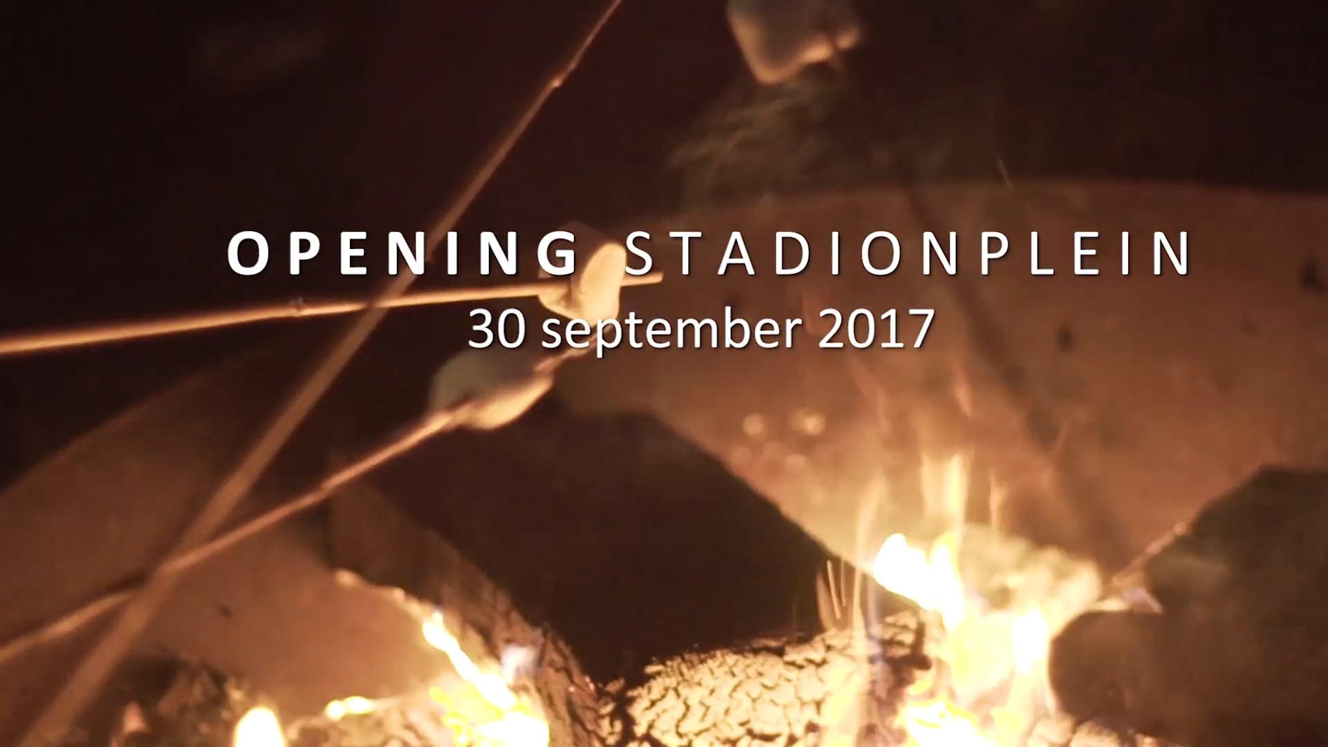 Aftermovie Opening Stadionplein 2017