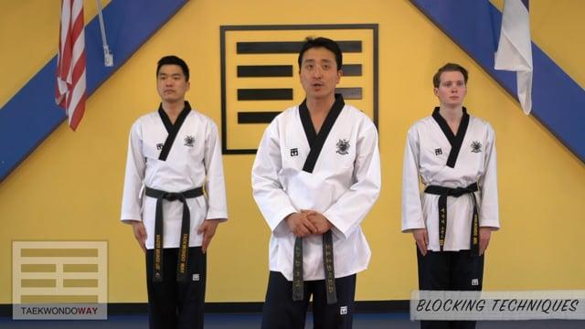 White Belt Blocking Techniques