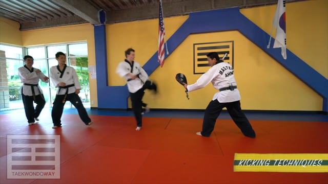 High Yellow Belt Punching and Kicking Techniques