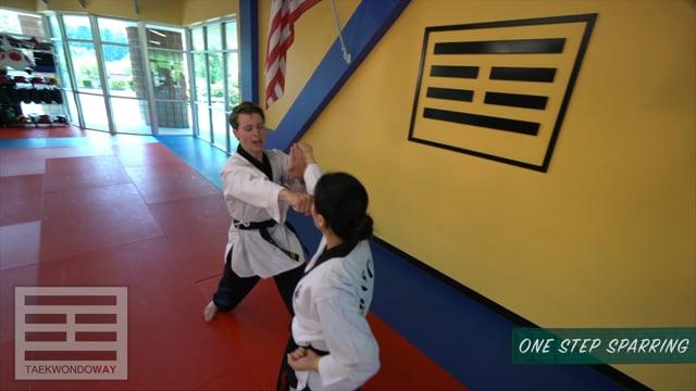 Green Belt One Step Sparring