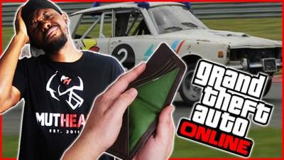 I'M TOO BROKE TO AFFORD A CUSTOM CAR! - GTA Online Gameplay