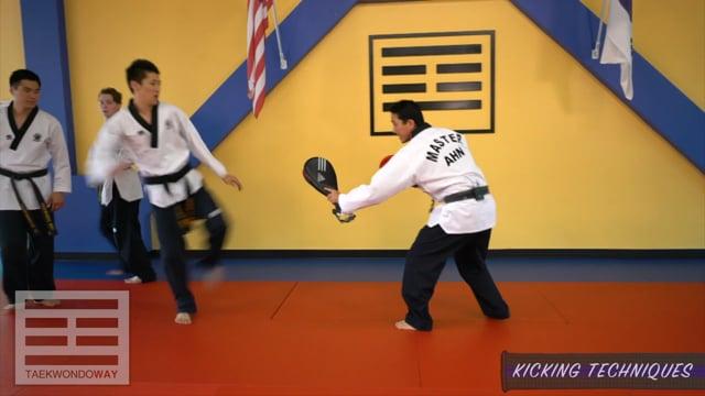High Green Belt Kicking Techniques