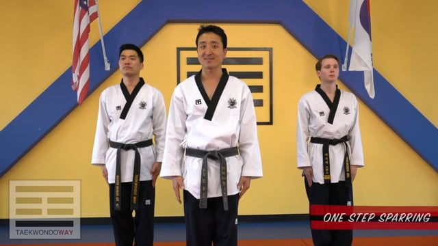 High Red Belt One Step Sparring