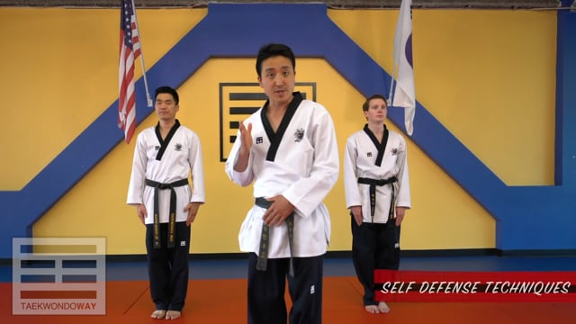 High Red Belt Self Defense