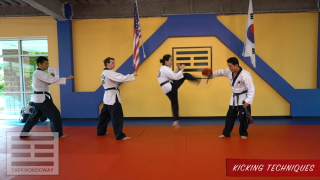 Red Belt Kicking Techniques