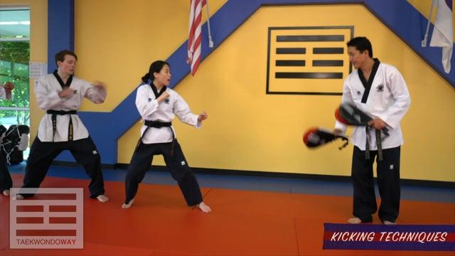 High Blue Belt Kicking Techniques
