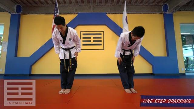 High Blue Belt One Step Sparring