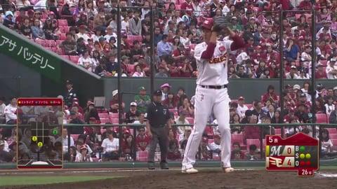 【5回表】CSへ好アピール!! イーグルス・森 3イニングスを9人で片づける好投!! 2017/10/10 E-M