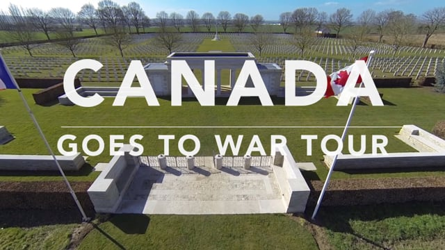 Canada Goes To War Tour