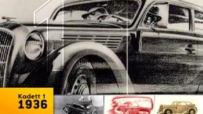 10 Generationen Opel Kompaktklasse