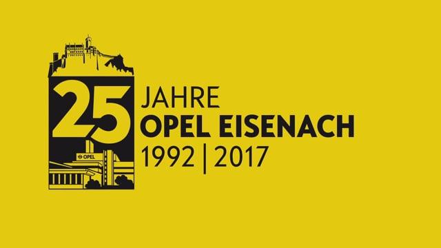 25 Jahre Werk Eisenach