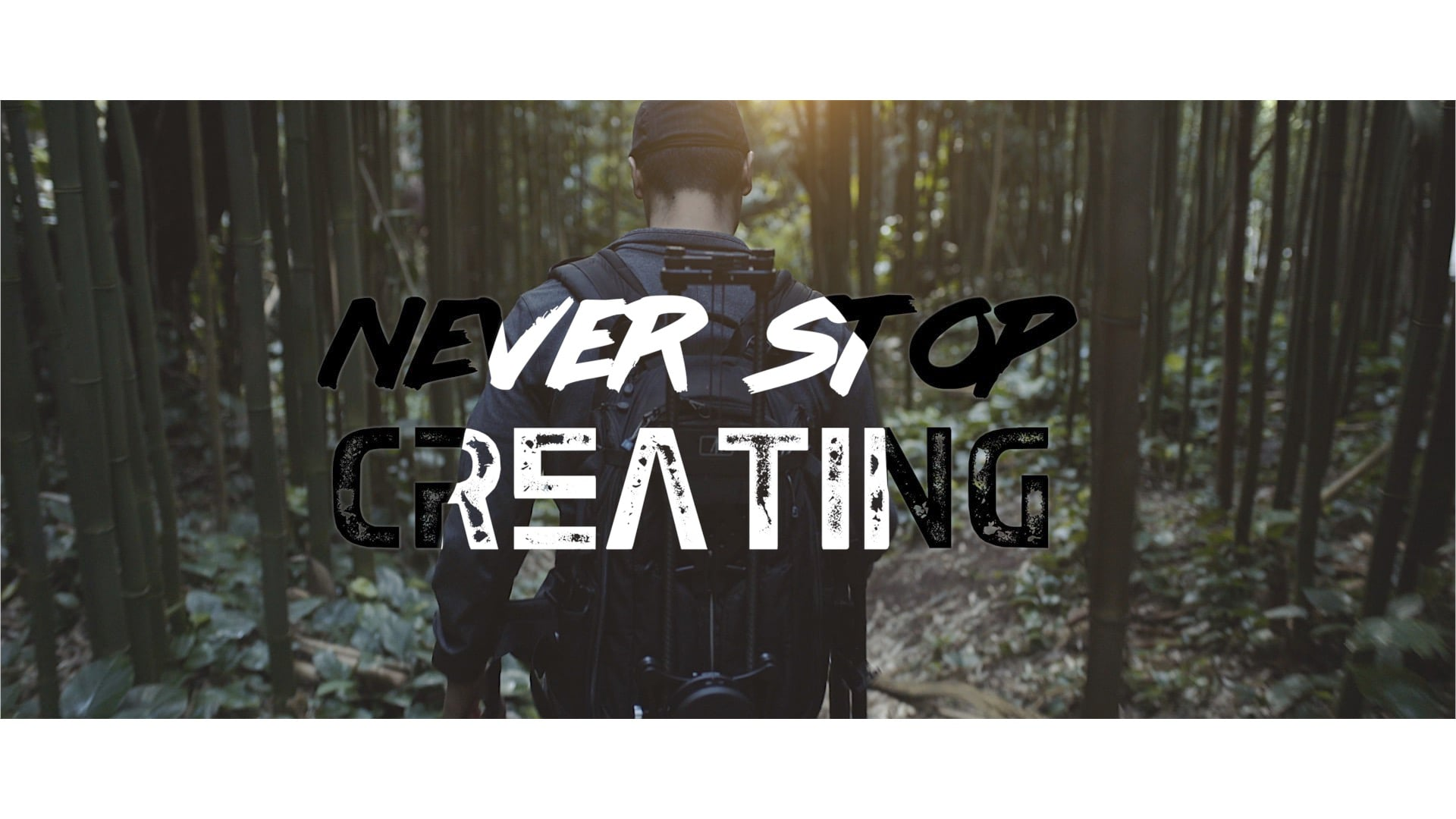 Never Stop Creating : Social Ad