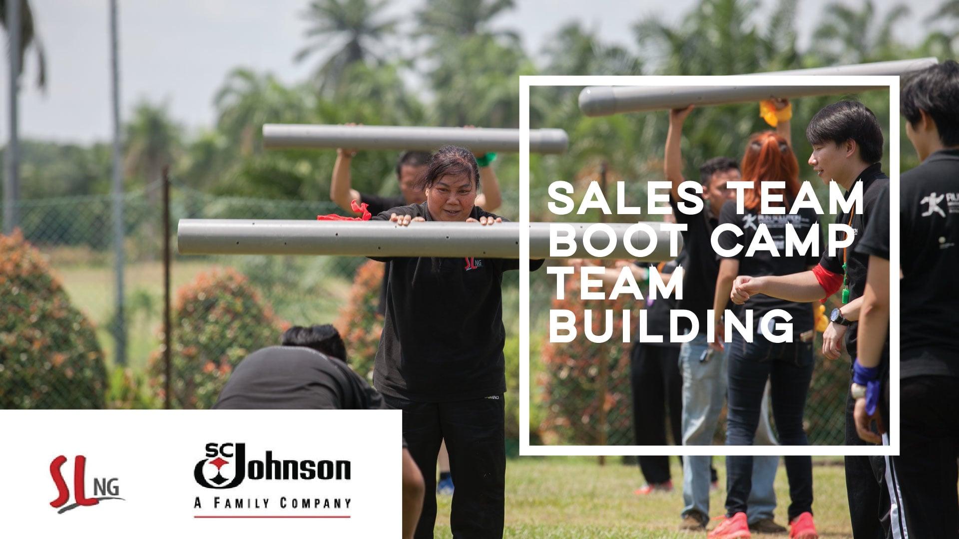 Sales Team Boot Camp-Professional Team Building in Johor Bahru- RUN Solution