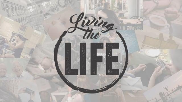 Living the Life Bumper