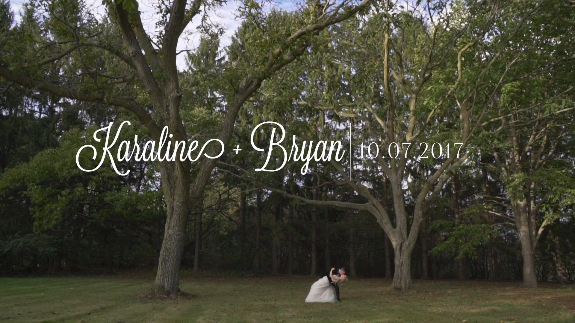 karaline + bryan .the trailer