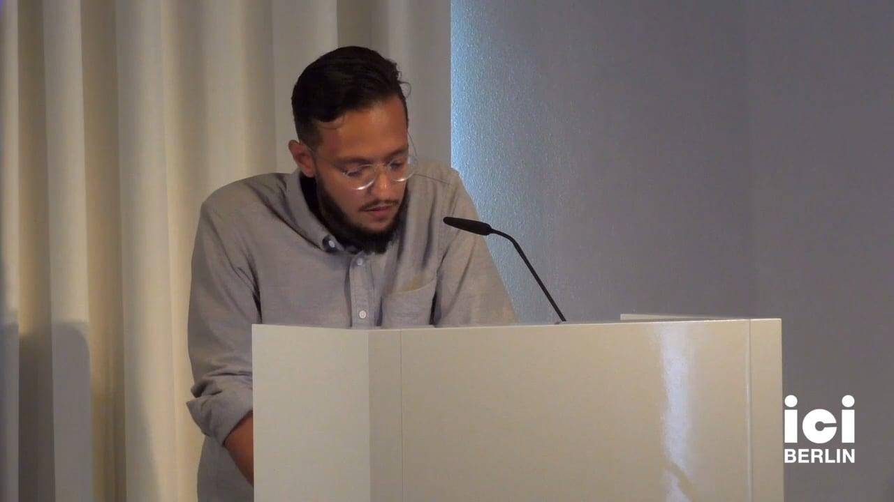 Talk by Saud Al-Zaid (Panel V)