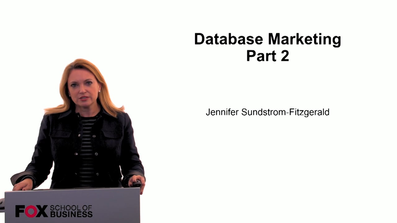 59945Database Marketing Part 2