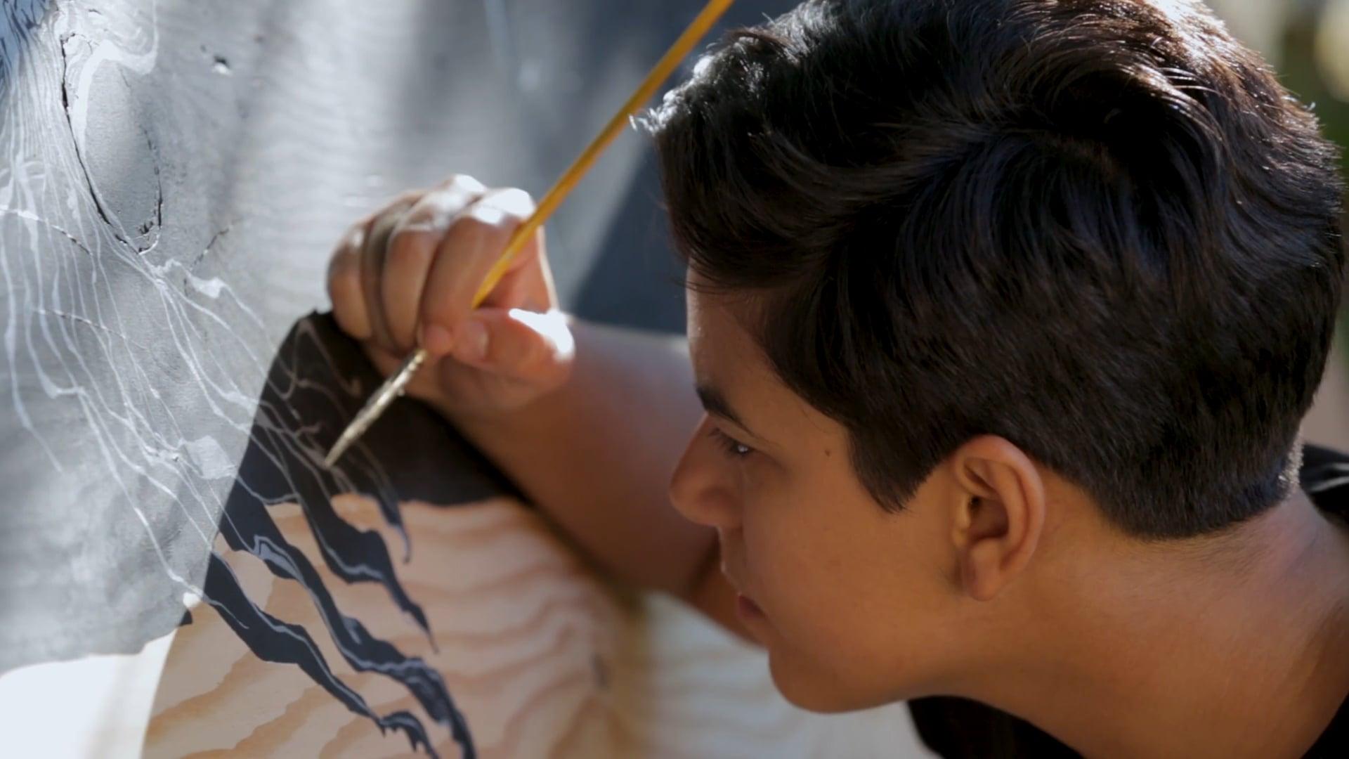 Aya Tarek Paints Portland