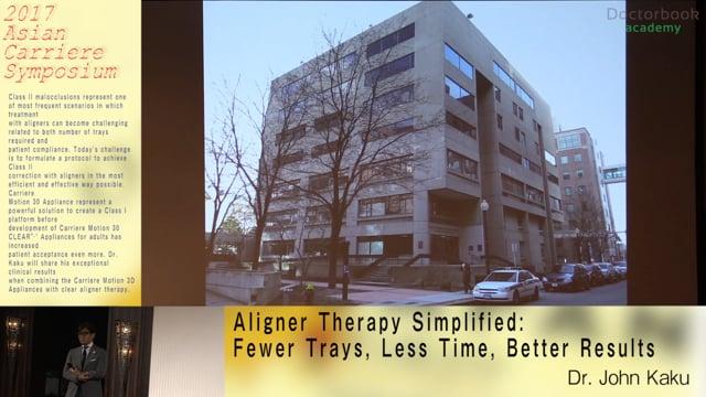 賀久浩生先生:Aligner Therapy Simplified【Digest】