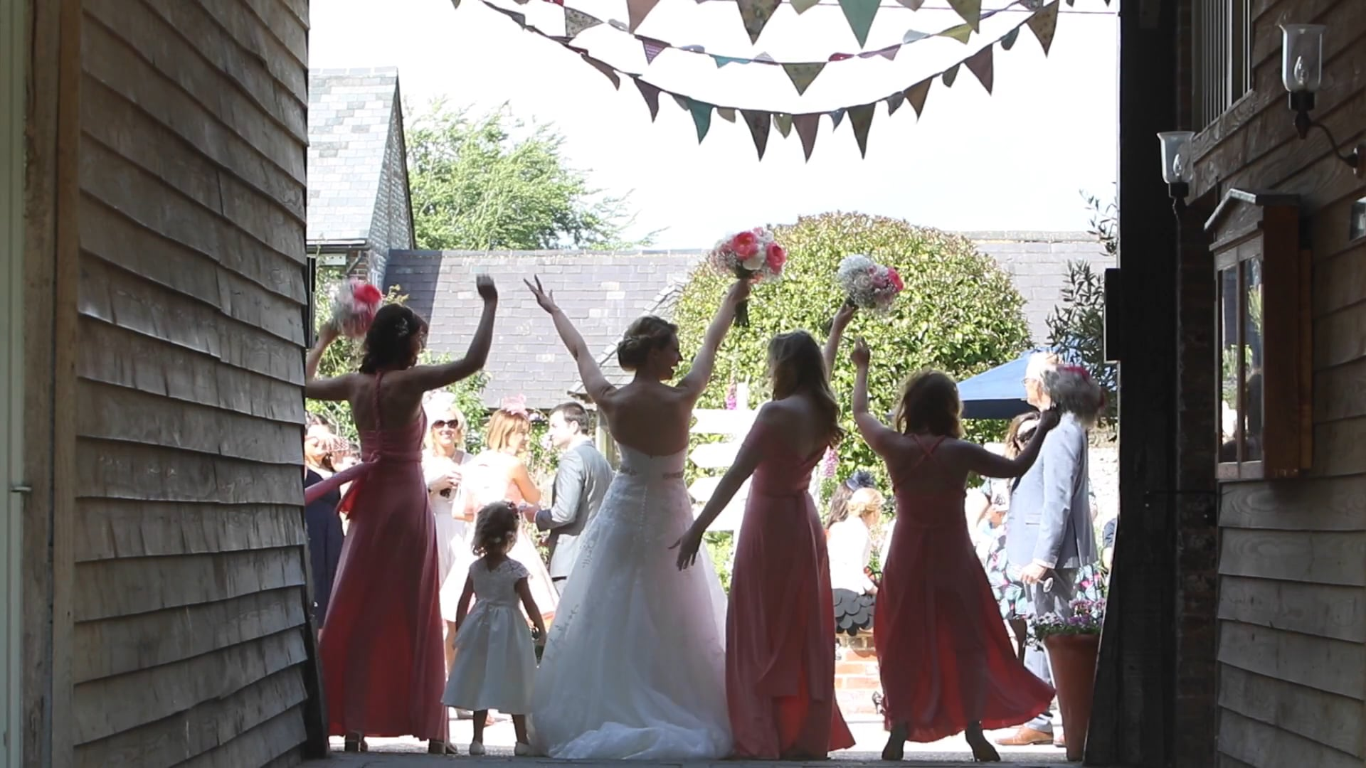 """""""Time Of My Life"""" - Dirty Dancing- Marryoke Lucas & Kirsty's Wedding Day"""
