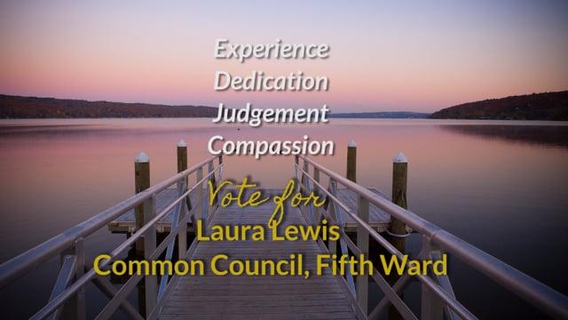 Laura Lewis, Fifth Ward Common Council, Vote Nov. 7