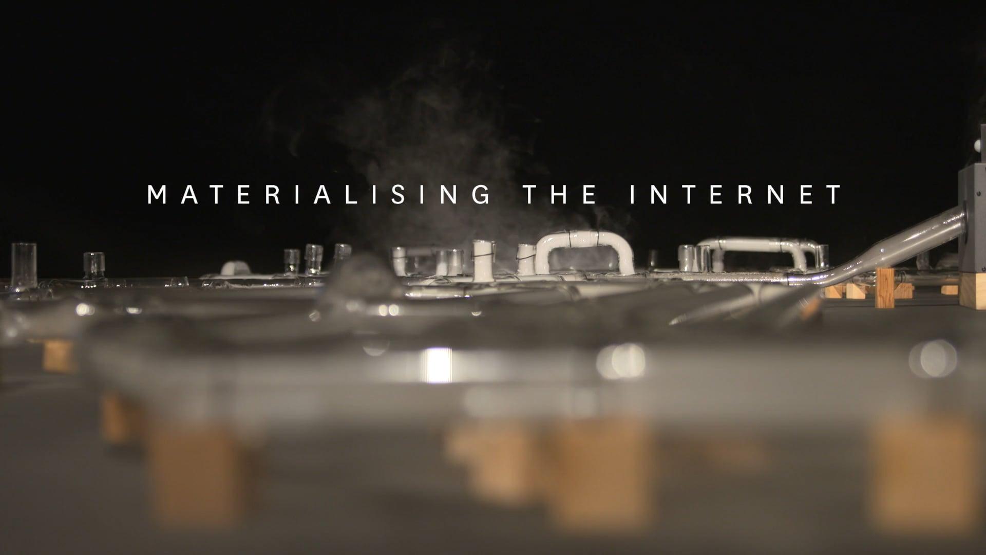 MU - Materialising the Internet