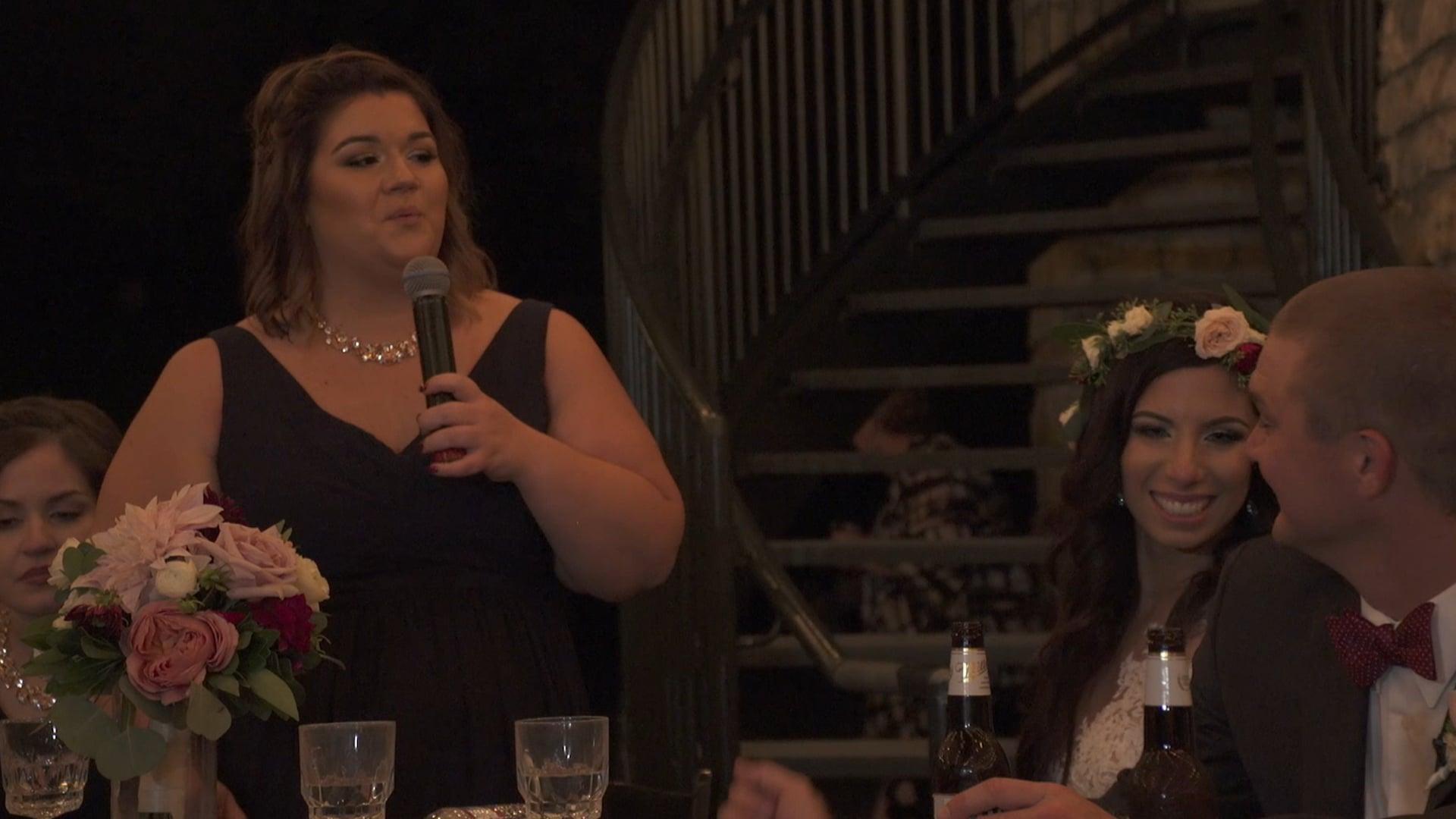 Melissa + Erik Prosser Wedding - Maid of Honor