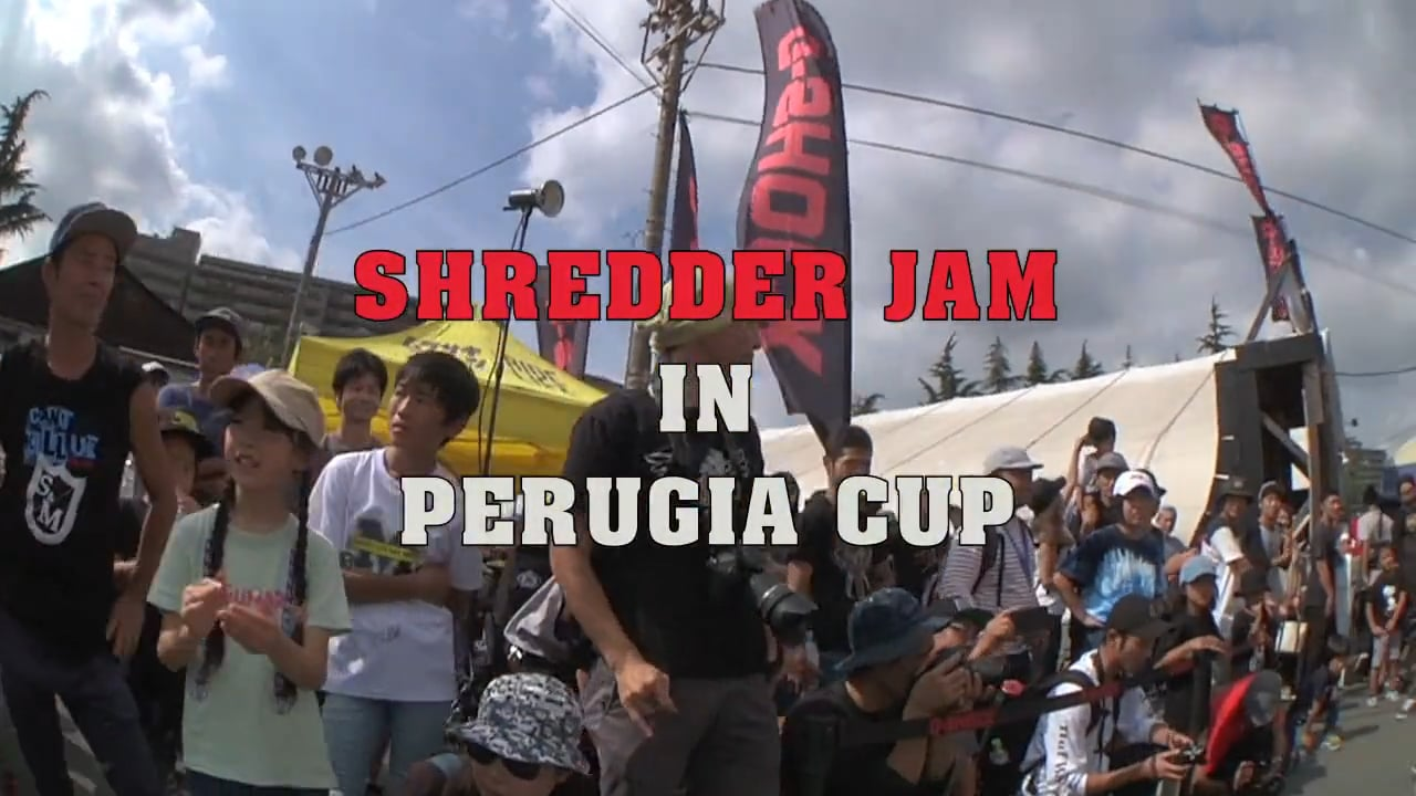 SHREDDER JAM in PERUGIA CUP 2017