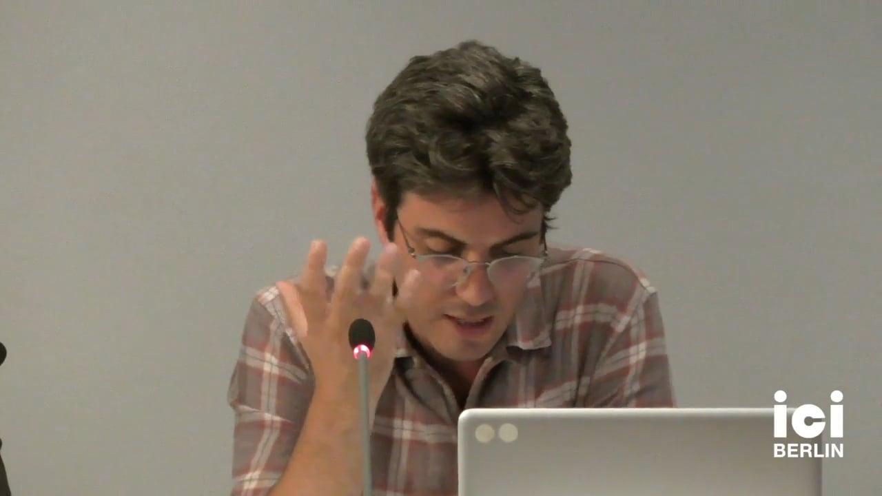 Talk by Ben Dawson (Panel II)