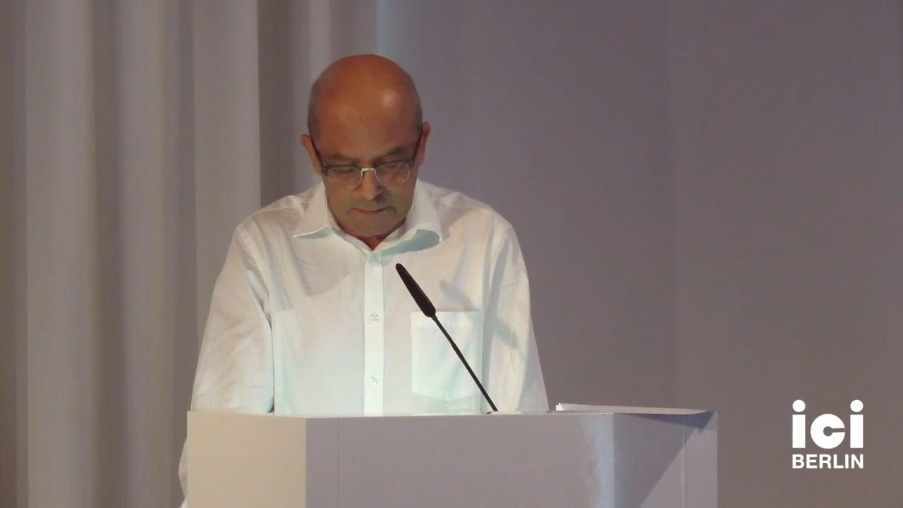 Talk by Ali Benmakhlouf (Panel V)