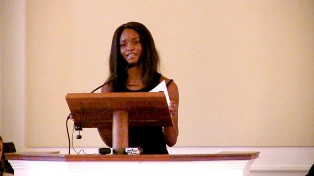 Millbrook Chapel Talk - India Patterson '18