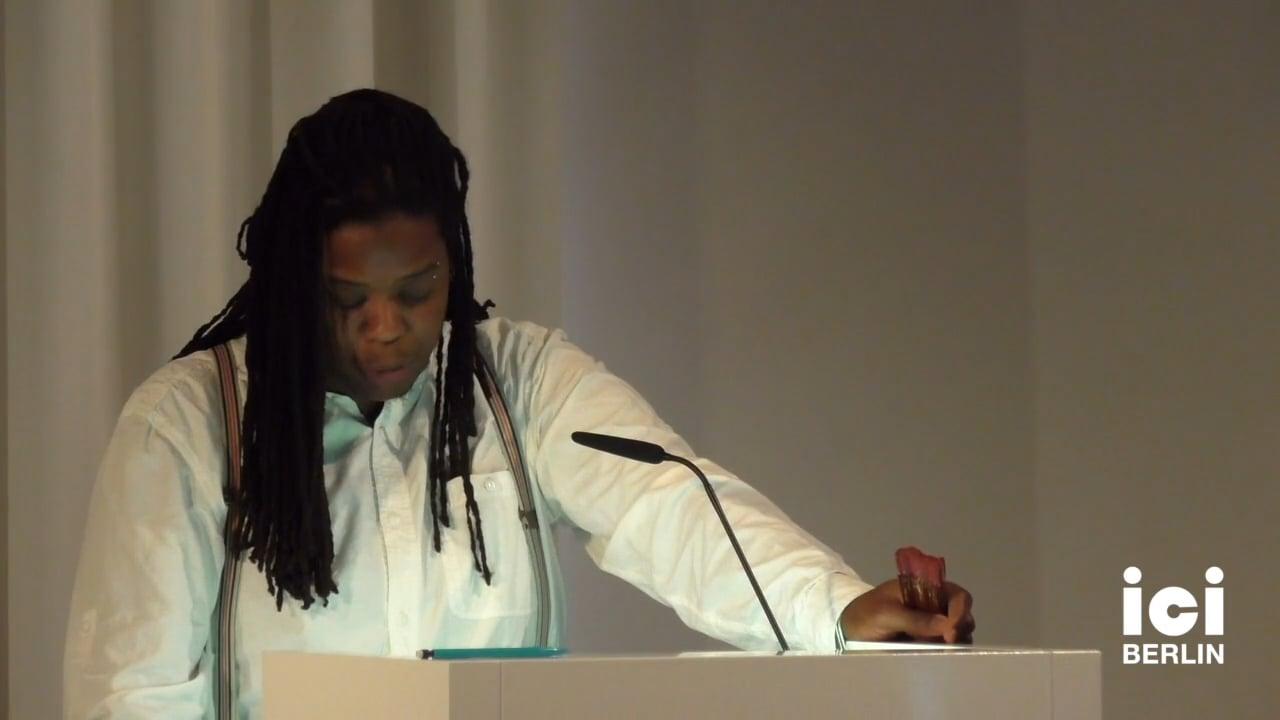 Talk by Anouchk Ibacka Valiente (Panel VII)